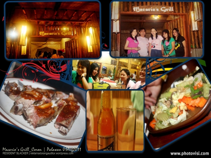 Macario's Grill at Coron --click on image for a full view