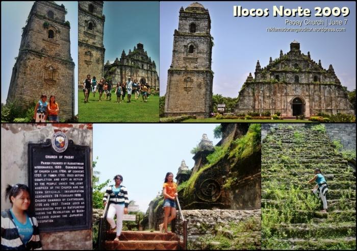 Paoay Church } Ilocos Norte, Philippines
