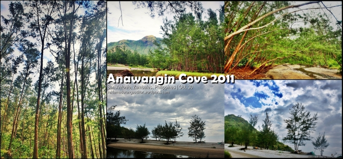 Anawangin Cove - the ala-twilight scenery! hehehe!