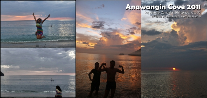 Anawangin Cove ---sunset shots! :)