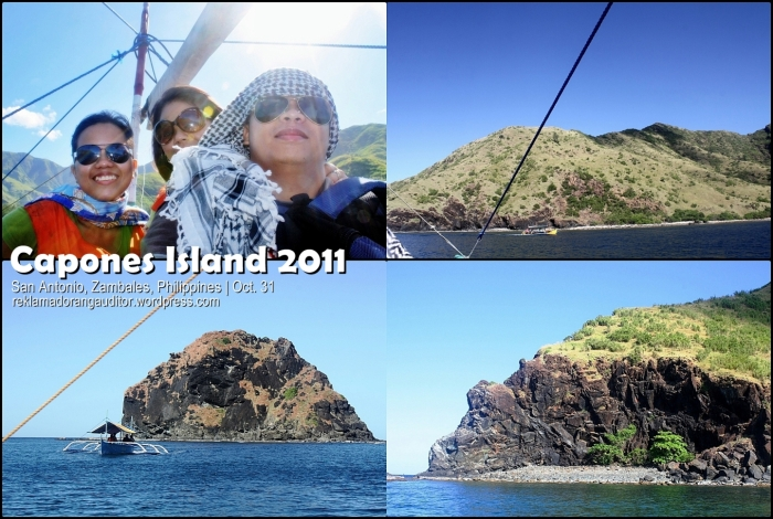 On our way to Capones Island... :D