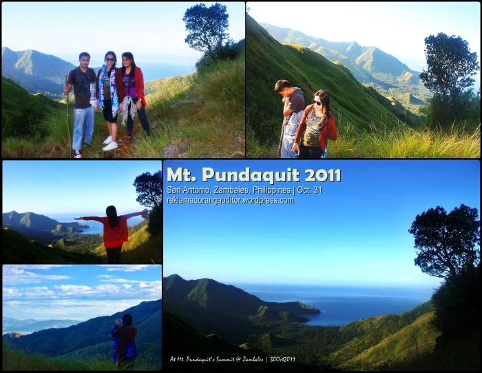 Mt. Pundaquit :)