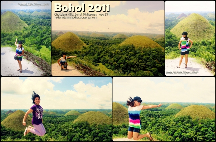 Chocolate Hills on the background  --click on image for a full view :)