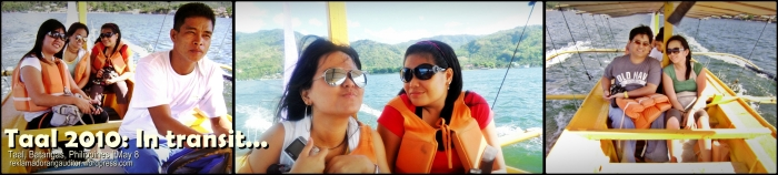 Taal: In transit.. (via Taal Lake)