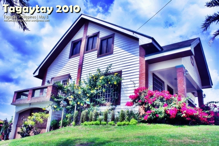 Tagaytay: Loyola Residence :)