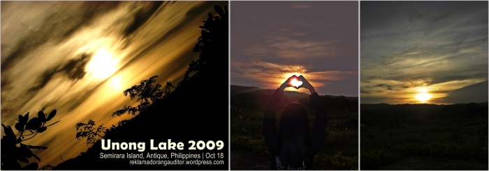 Sunset at Unong Lake <3  --click on image for a full view :)