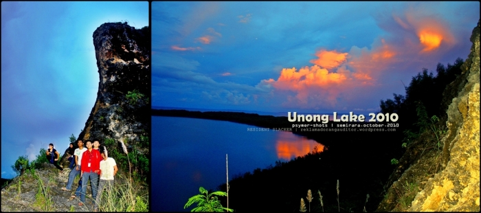 Unong Lake (back) Sunset --click on image for a full view :)
