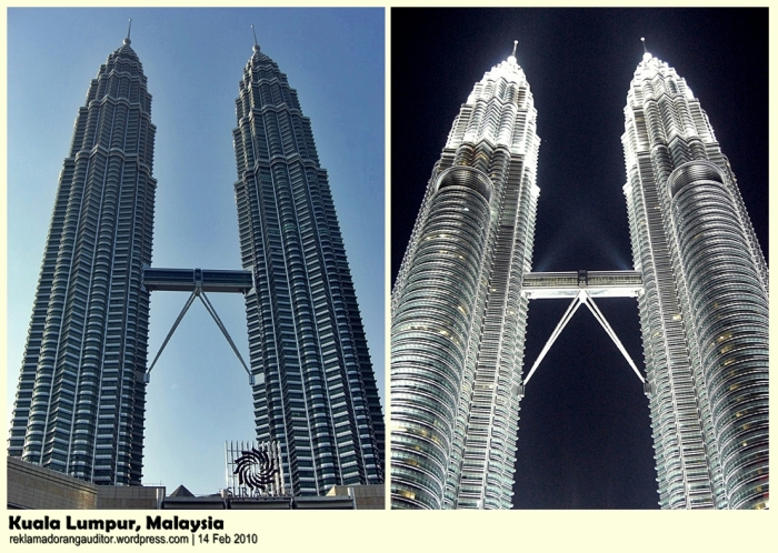 The Petronas Towers  --click on image for a full view