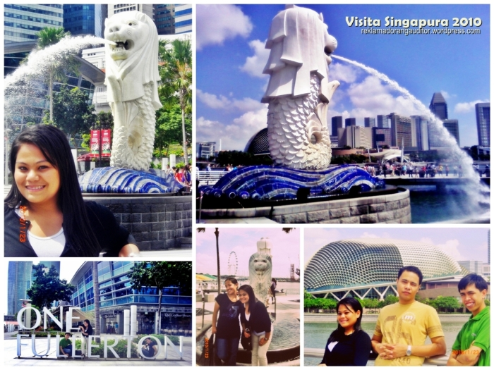 Fullerton :)  Posing with The Merlion :)  --click on image for a full view