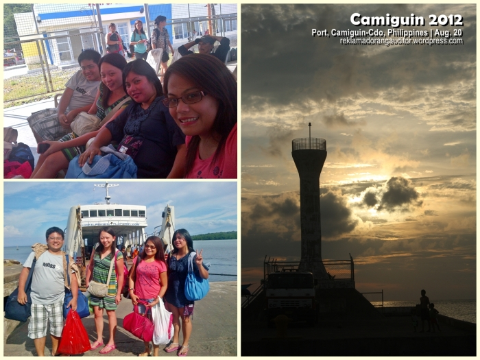 Going back to Balingonan Port with our tanned skin! :) ---click on image for a full view