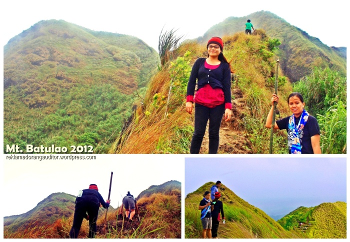 On our way to Batulao's summit  --click on image for a full view :)