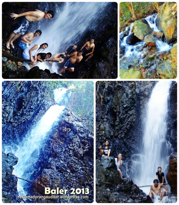 Enjoying Daguisit Falls  --click on image for a full view :)