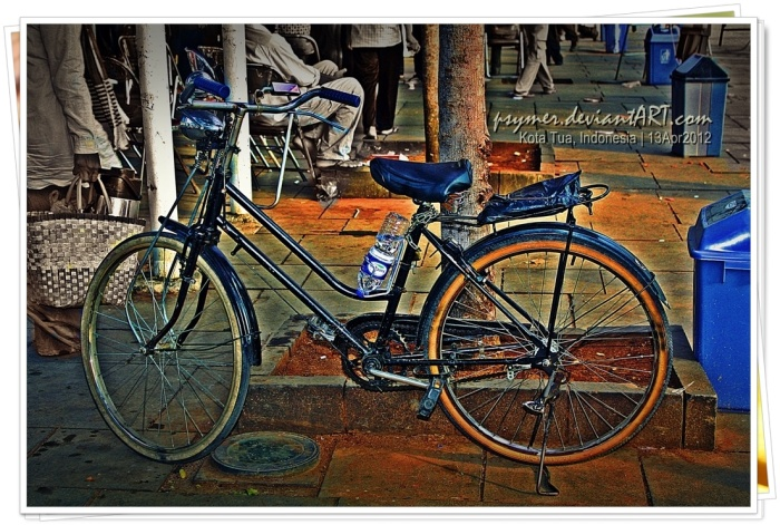 """The bicycle is a curious vehicle. Its passenger is its engine."" ---John Howard"