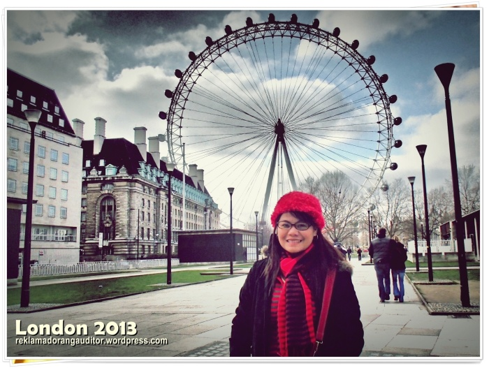 The London Eye and Me