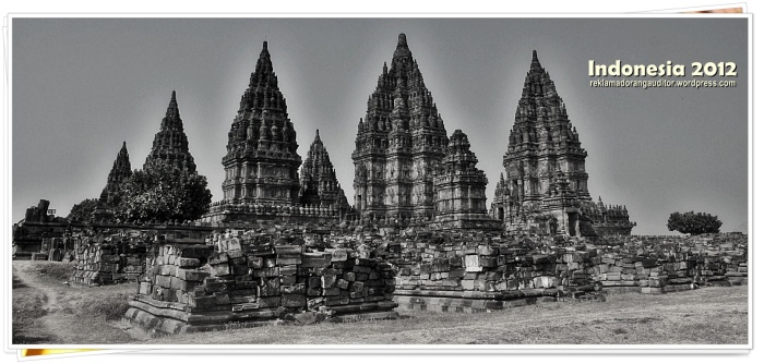 The Prambanan Temple  --click on image for a full view :)