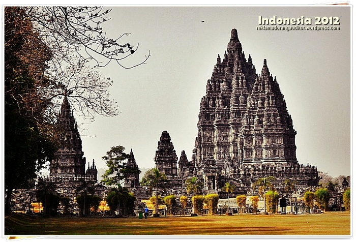 Prambanan Temple  --click on image for a full view :)