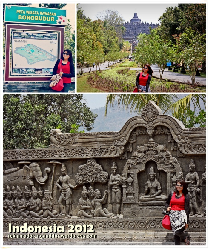 At Borobudur Temple  --click on image for a full view :)