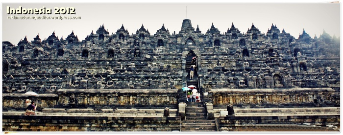 Borobudur Temple  --click on image for a full view :)