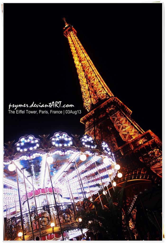 ♥ The Eiffel and the Carousel ♥