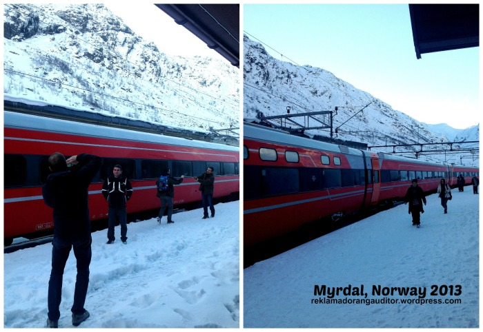 Myrdal Train Station, Norway  --click on image for a full view :)