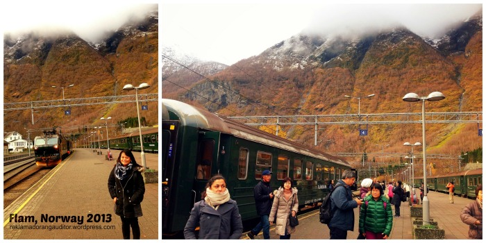 Flam Rail Station, Norway  --click on image for a full view :)