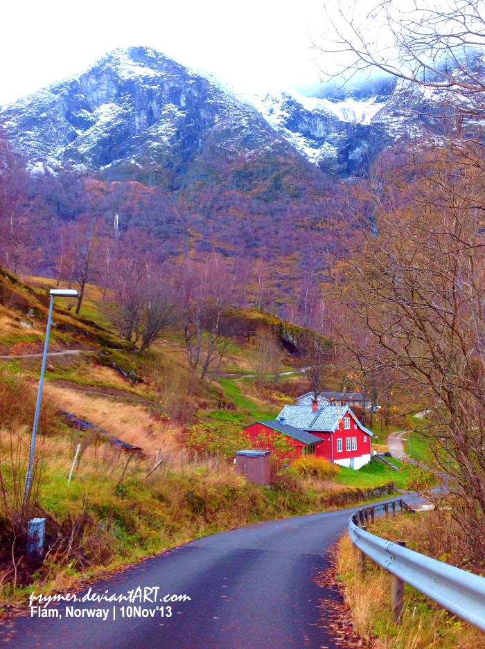 Flam, Norway --click on image for a full view :)