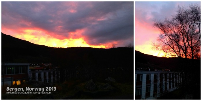 Sunrise at Montana, Bergen, Norway  --click on image for a full view :)