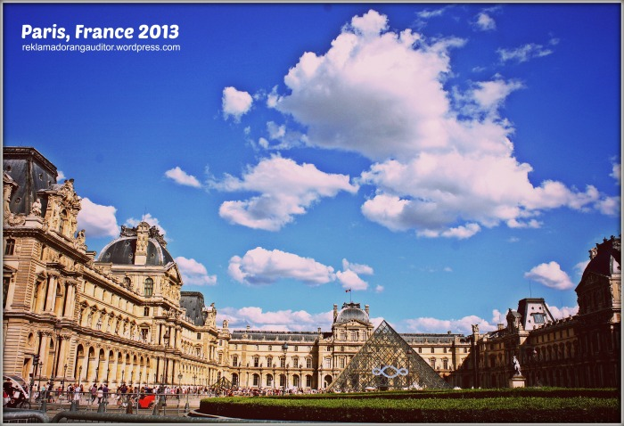 Paris France - The Louvre