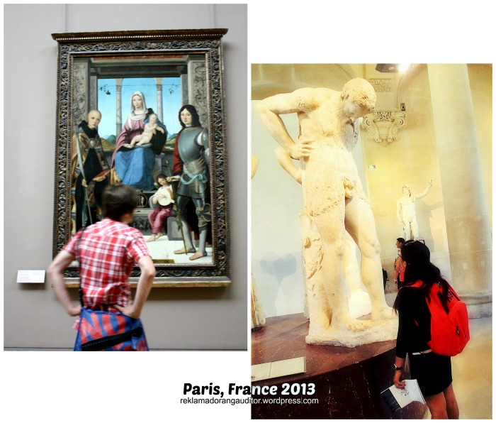 Paris France - Appreciating Art