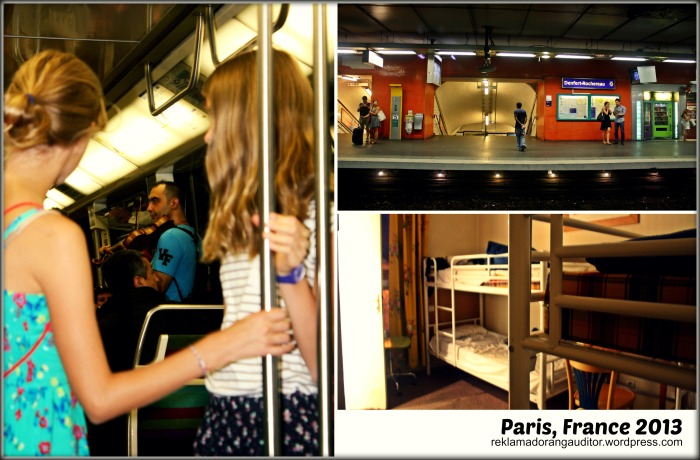 Paris France - Train Ride Home :)