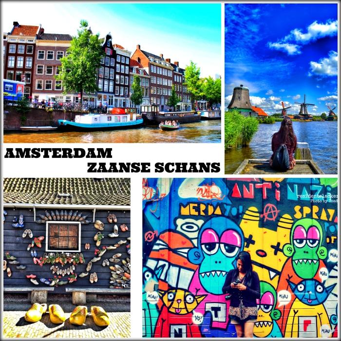 02_Amsterdam-Zaanse Schans_Collage